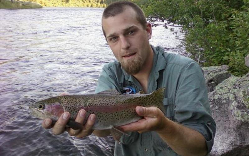 Big fish rising on thick caddis