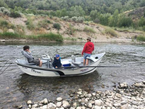 Teton river idaho fly fishing report for Millers river fly fishing